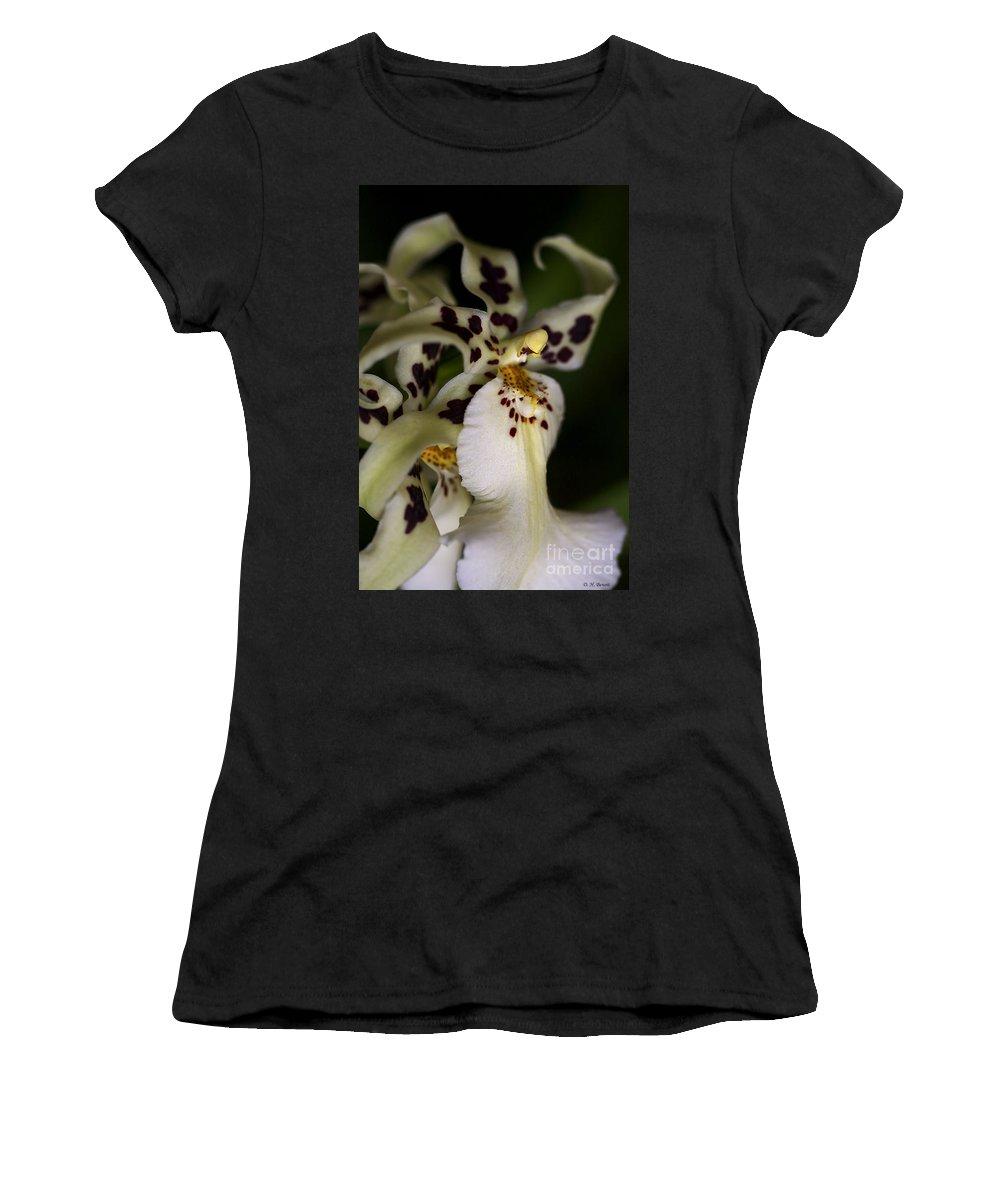 Flower Women's T-Shirt featuring the photograph Elegance by Deborah Benoit
