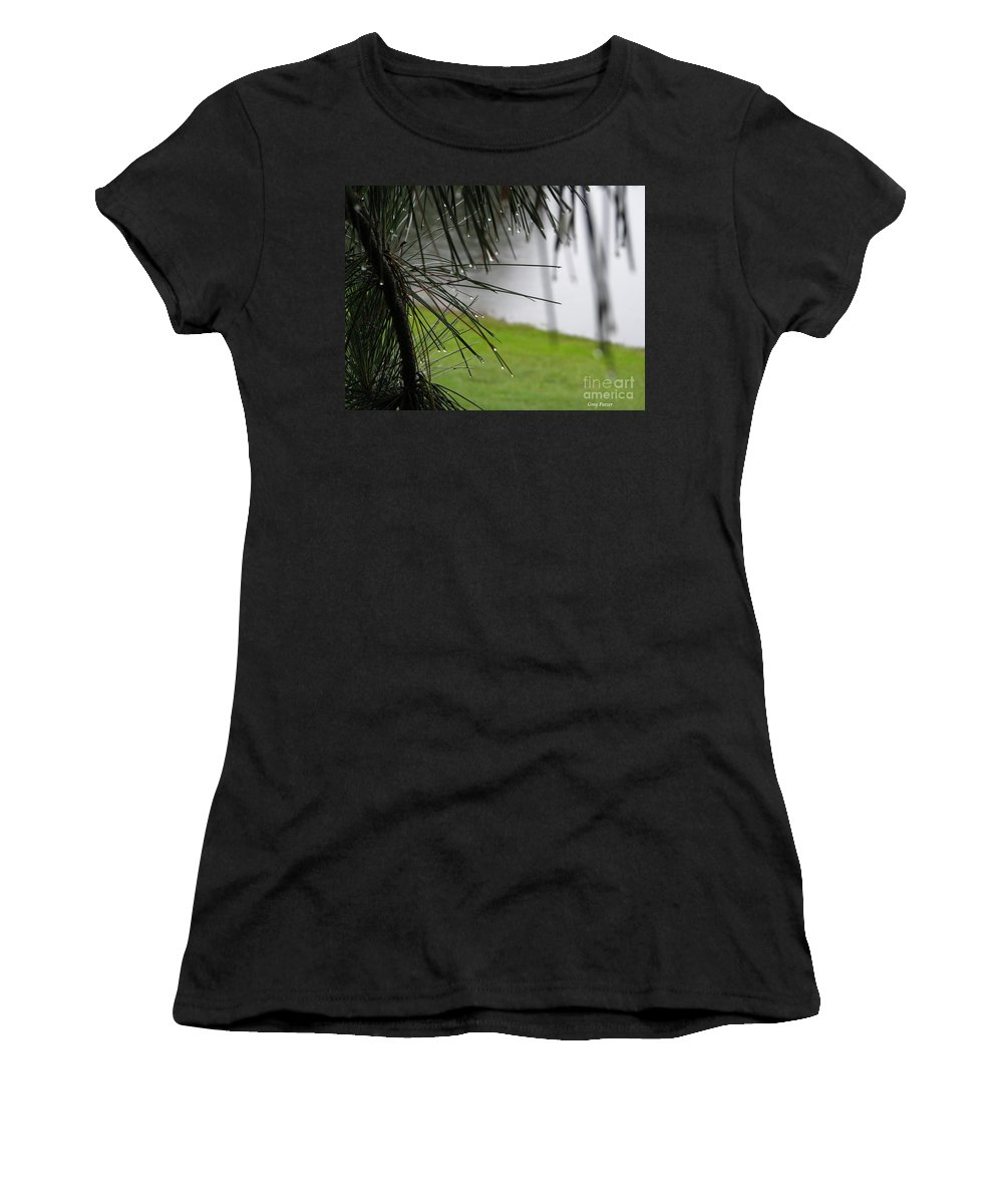 Lakes Women's T-Shirt (Athletic Fit) featuring the photograph Elements by Greg Patzer
