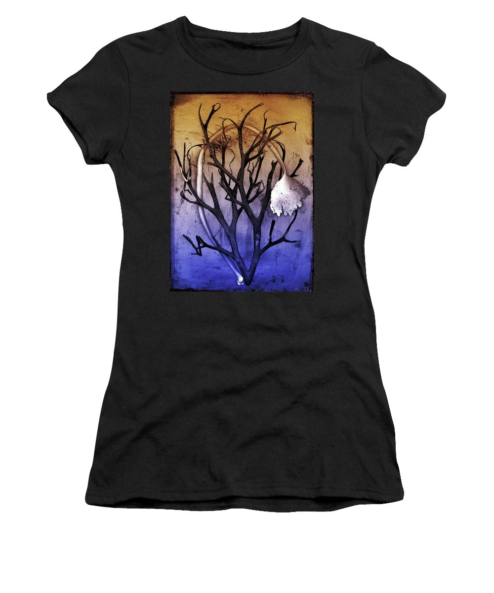 Brigitte Harper Women's T-Shirt featuring the digital art Embrace by Brigitte Harper