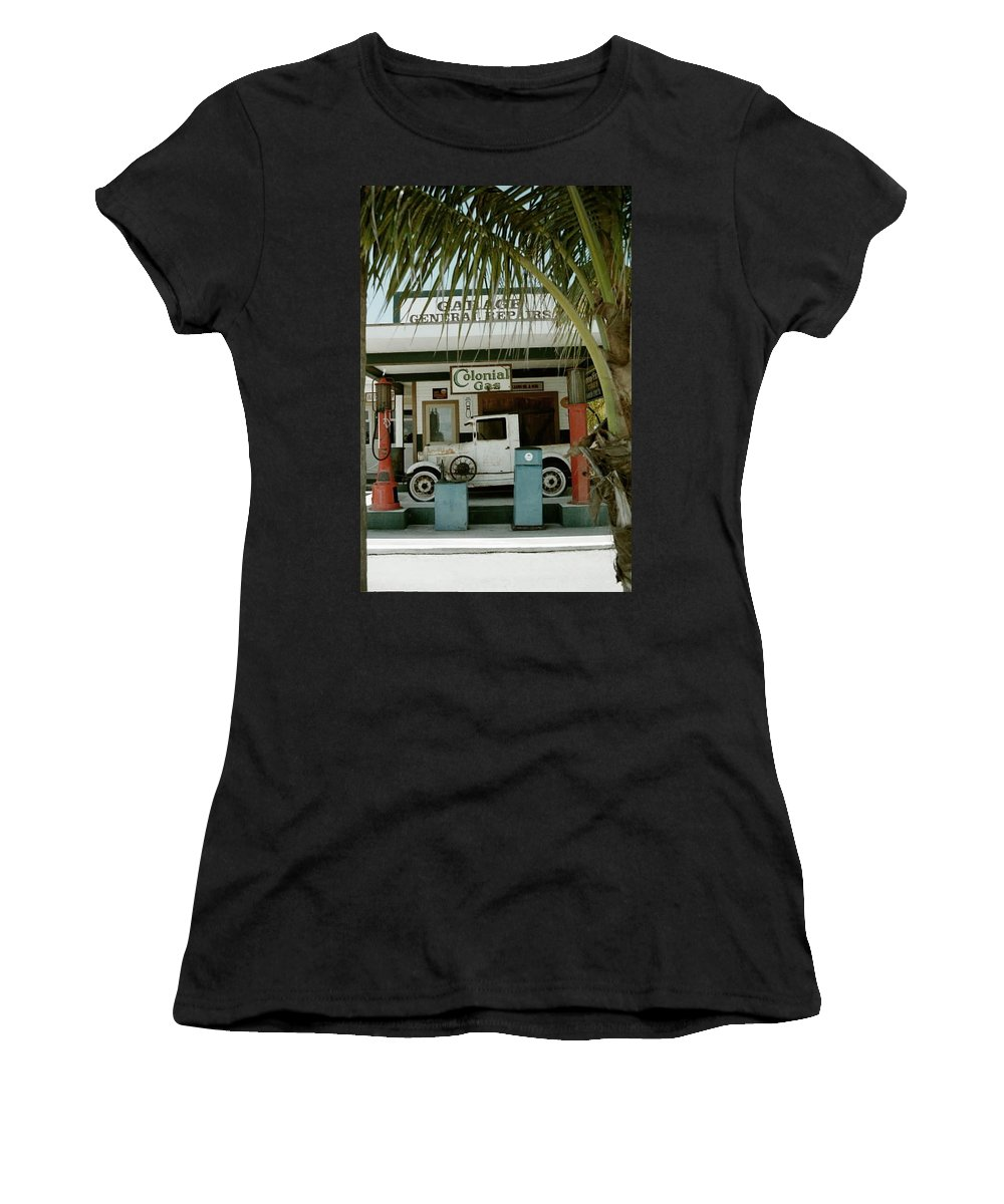 Everglade City Women's T-Shirt (Athletic Fit) featuring the photograph Everglade City II by Flavia Westerwelle