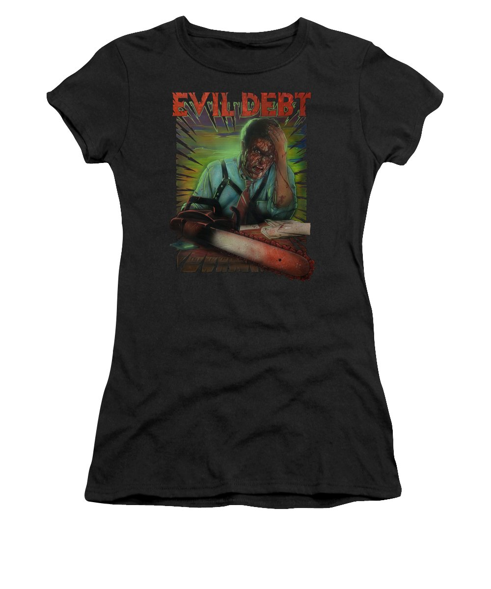 Debts Paintings Women's T-Shirts