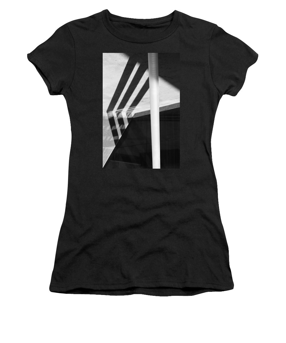 Abstract Women's T-Shirt featuring the photograph Fallen Aside by The Artist Project