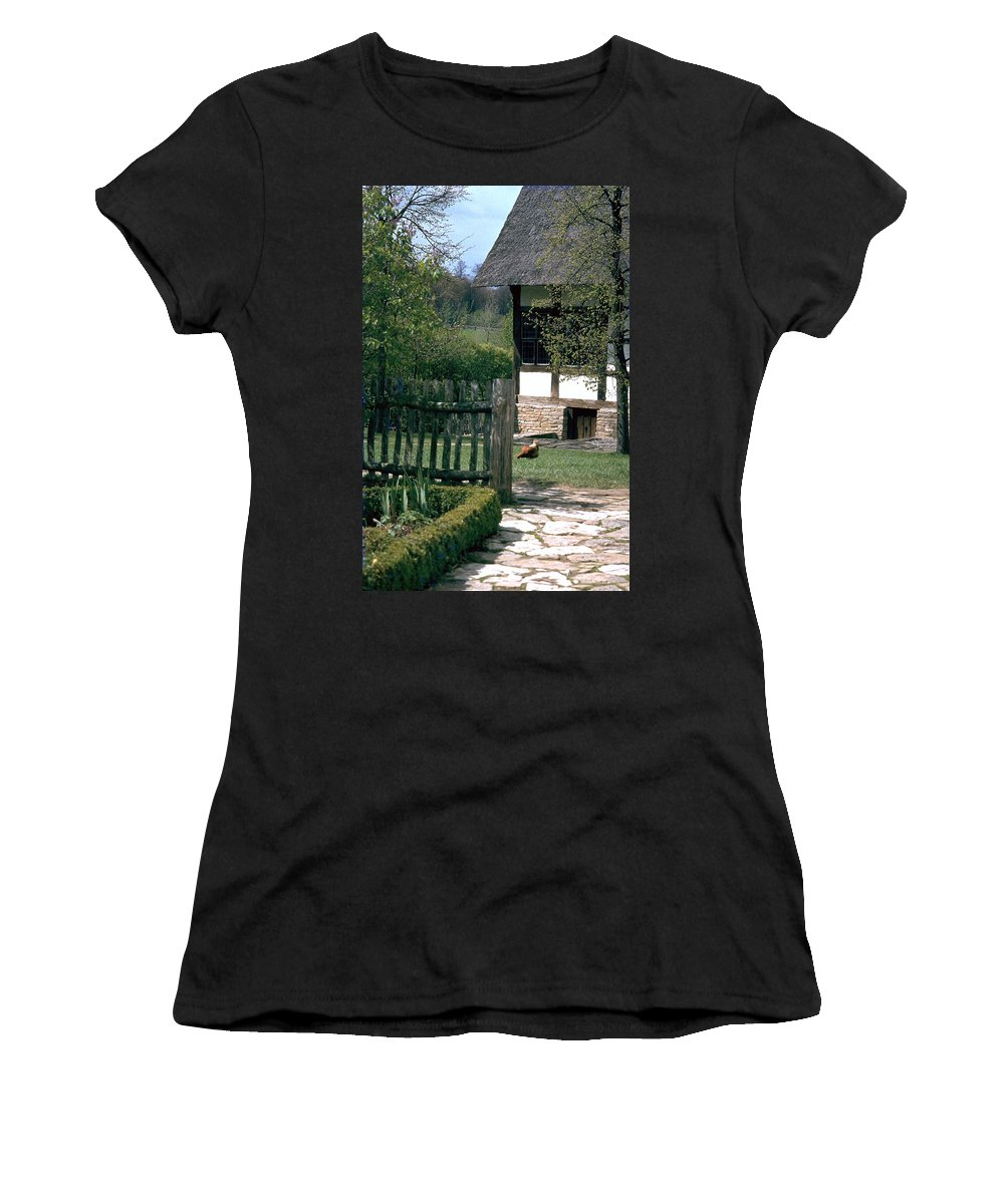 German Women's T-Shirt (Athletic Fit) featuring the photograph Farm by Flavia Westerwelle
