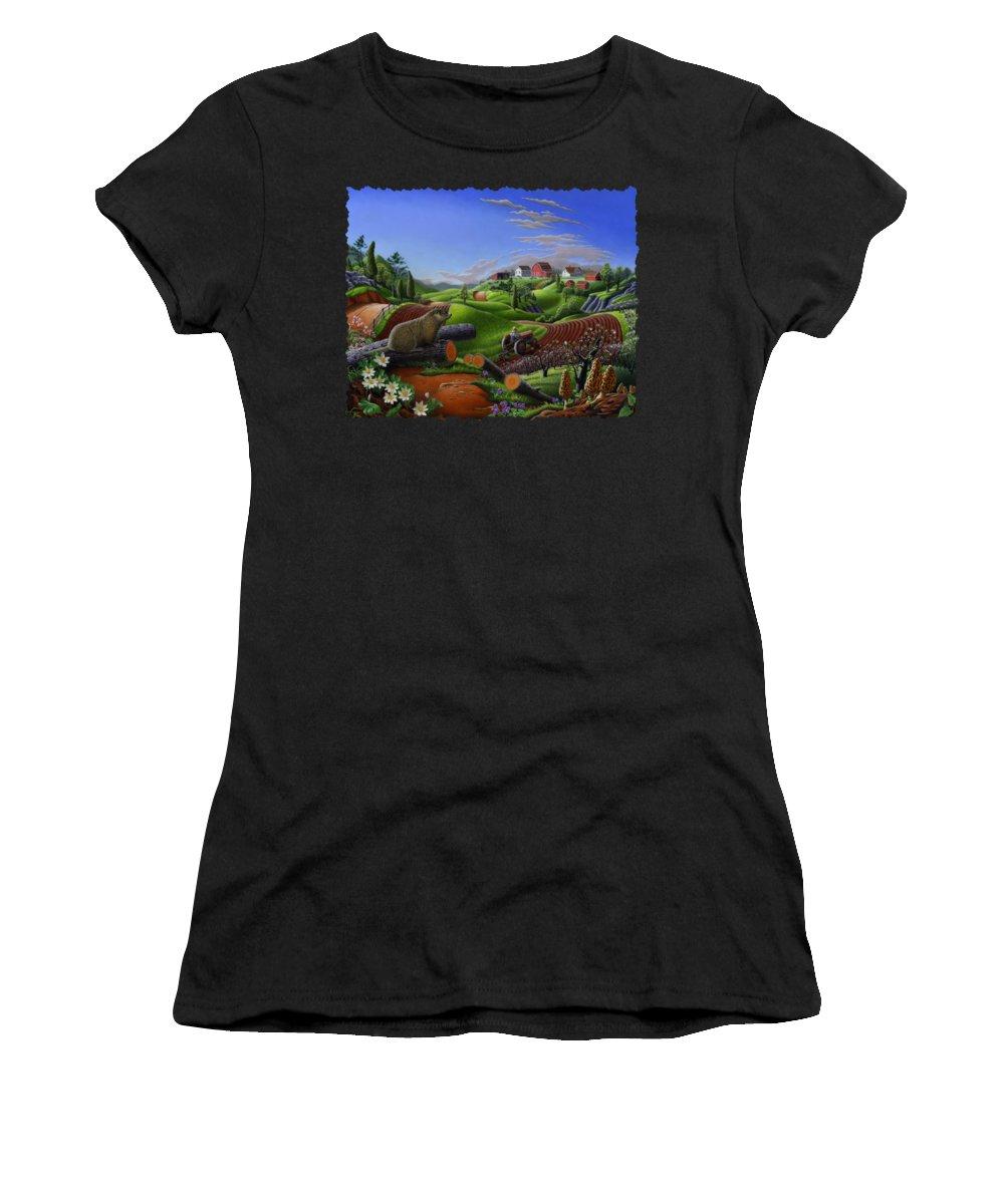 Groundhog Women's T-Shirts