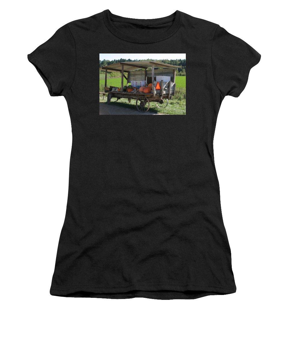 Fast Food Women's T-Shirt featuring the photograph Fast Food by Bjorn Sjogren