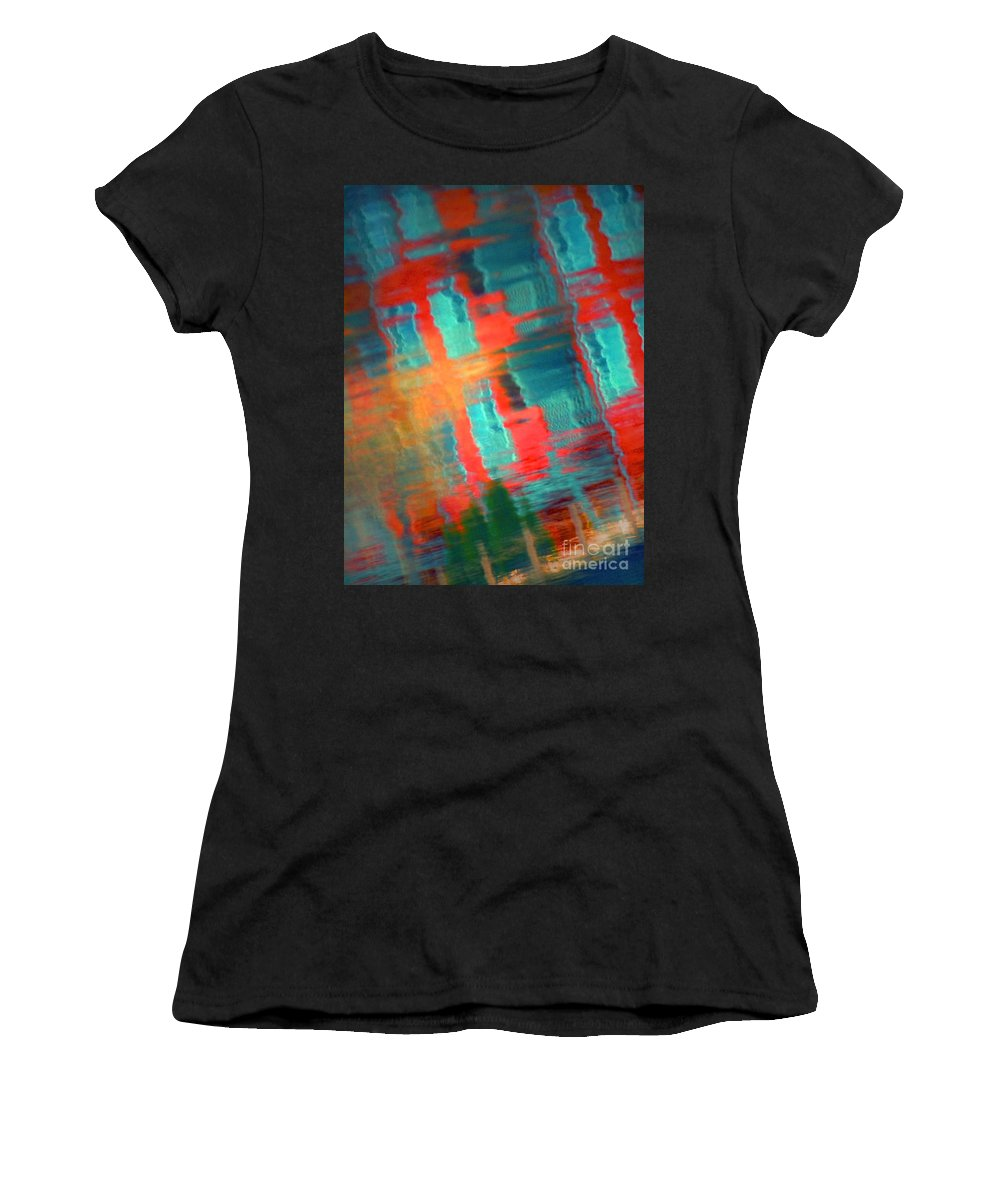 Reflections Women's T-Shirt (Athletic Fit) featuring the photograph February 15 2010 by Tara Turner