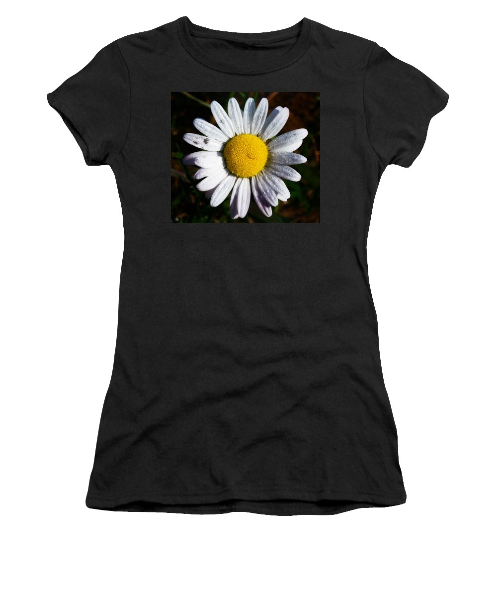 Flowers Women's T-Shirt featuring the photograph Flower Power by Bill Cannon
