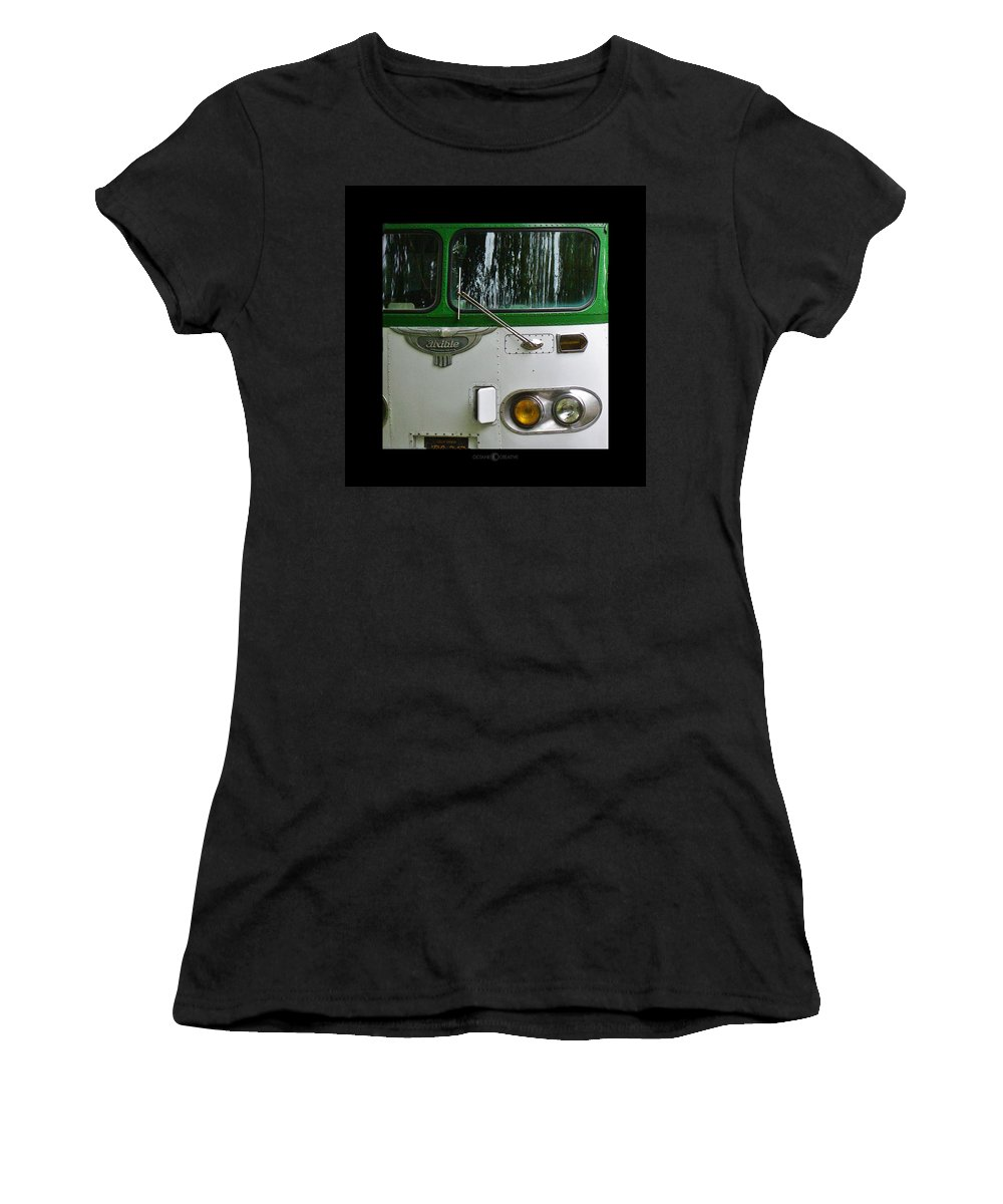 Flxible Women's T-Shirt (Athletic Fit) featuring the photograph Flxible by Tim Nyberg