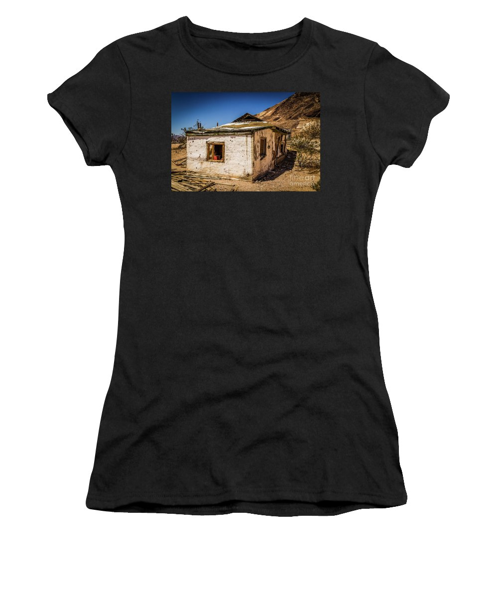 Nature Women's T-Shirt (Athletic Fit) featuring the photograph Forgotten Place by Mirko Chianucci