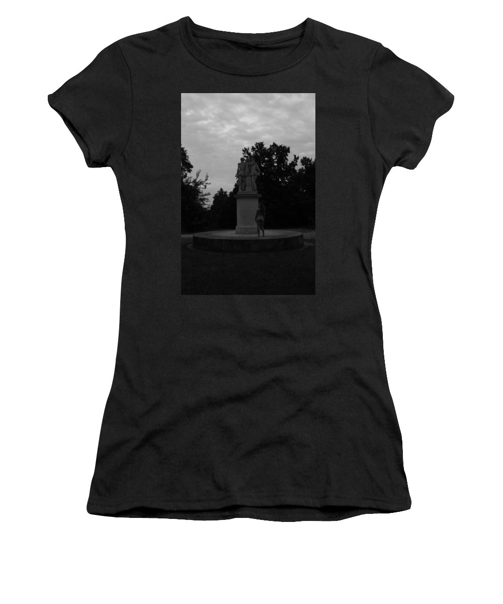 Women's T-Shirt (Athletic Fit) featuring the photograph Four Graces by Terezie Kosikova