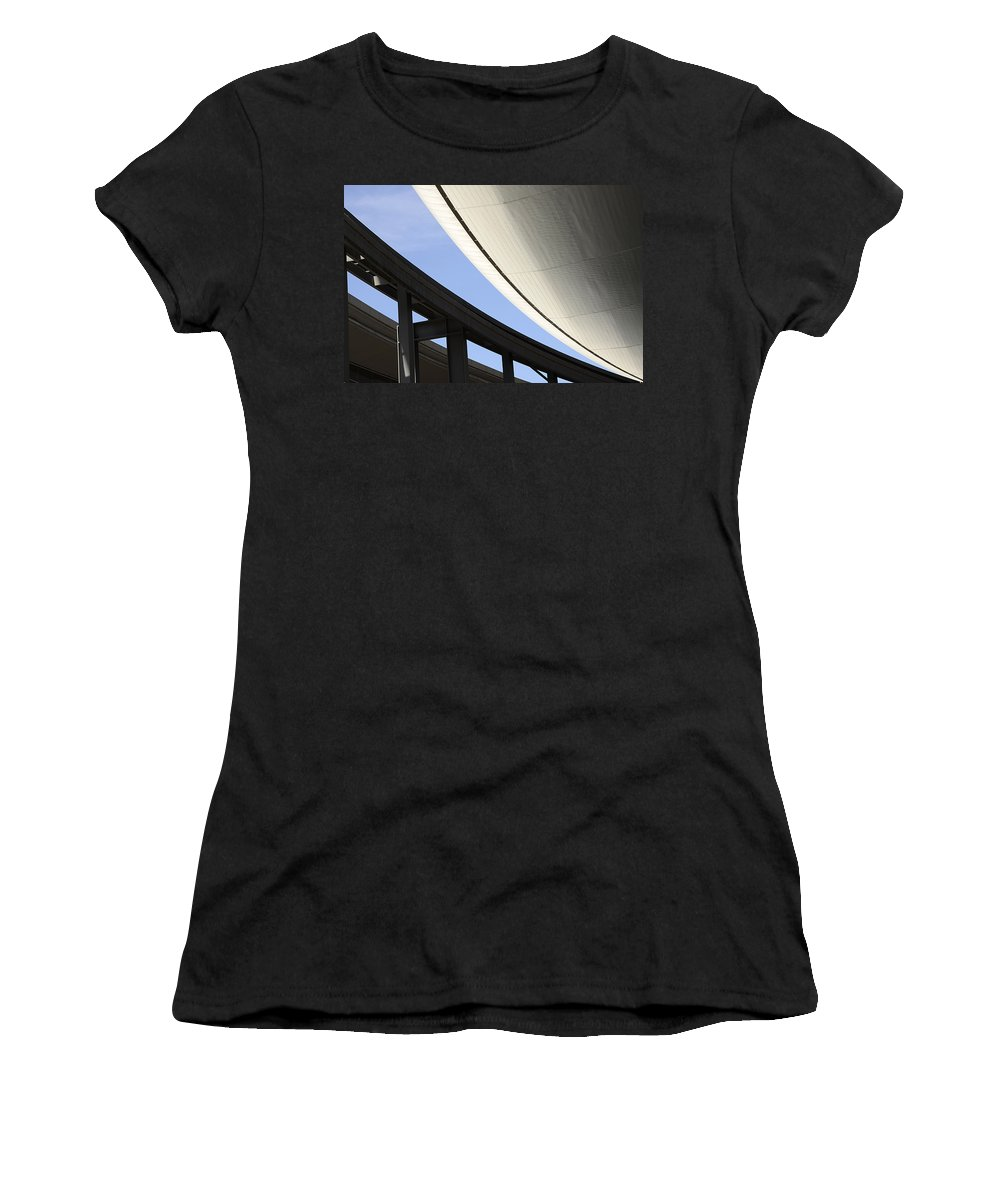 Las Vegas Women's T-Shirt featuring the photograph Future Shock by Bob Christopher