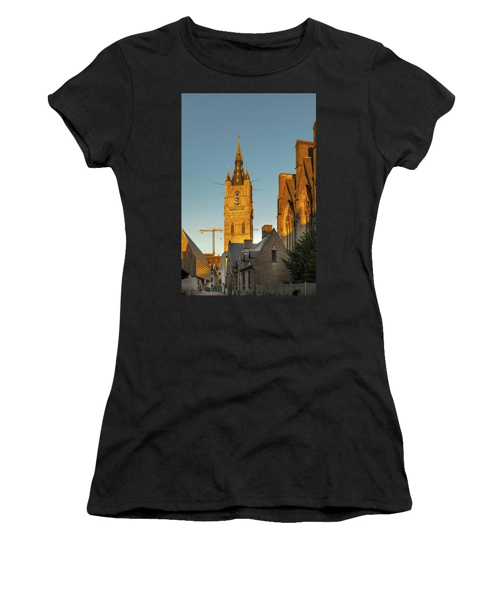 Ghent Women's T-Shirt featuring the photograph Ghent3 by Hristo Shanov