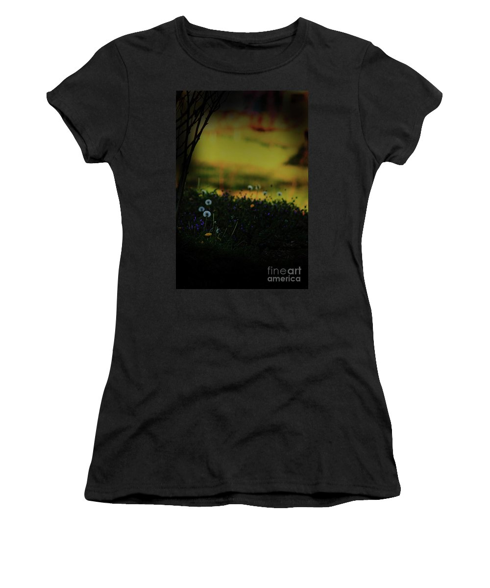 Nature Women's T-Shirt (Athletic Fit) featuring the photograph Glowing by Kim Henderson