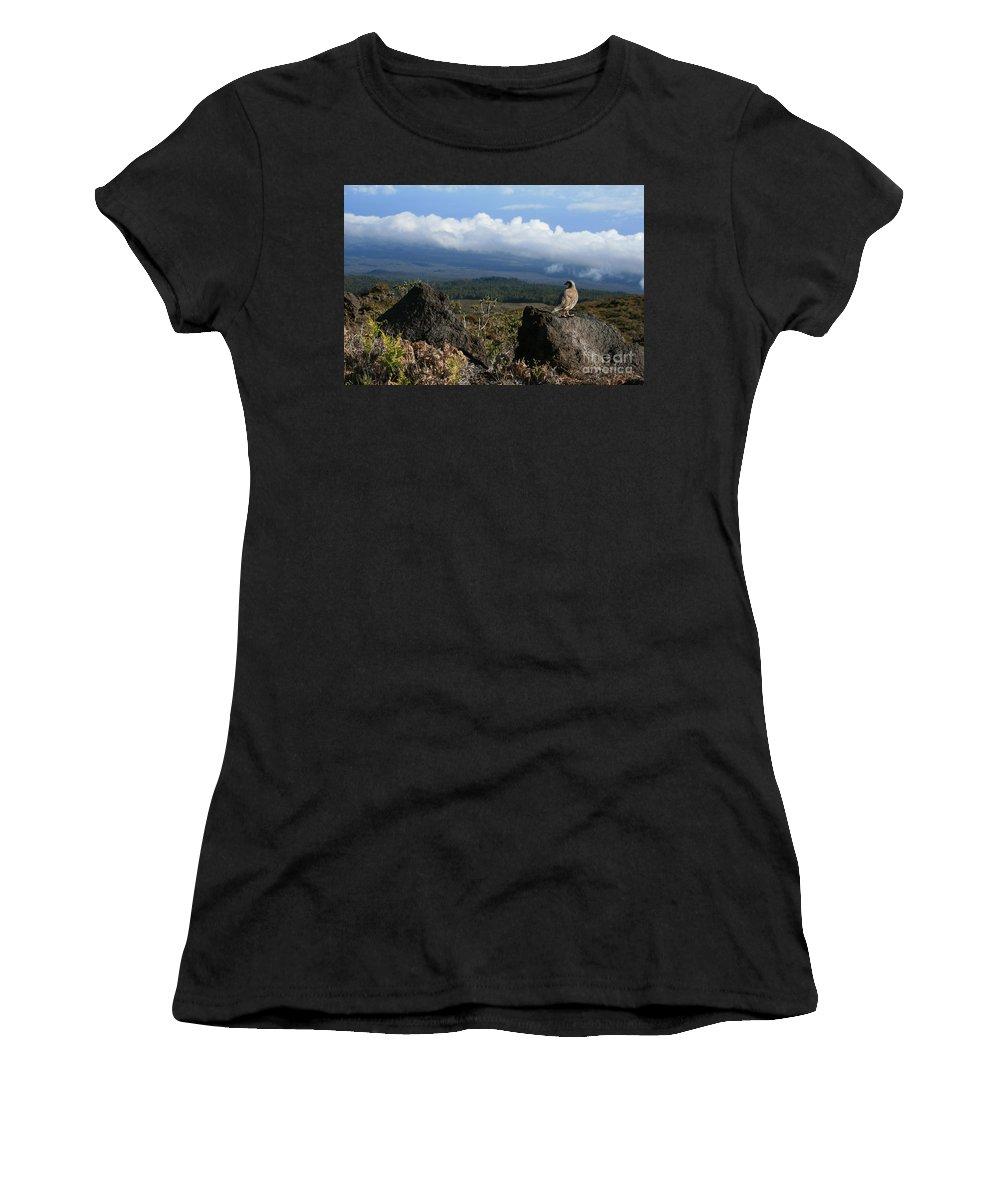 Aloha Women's T-Shirt featuring the photograph Good Morning Maui by Sharon Mau