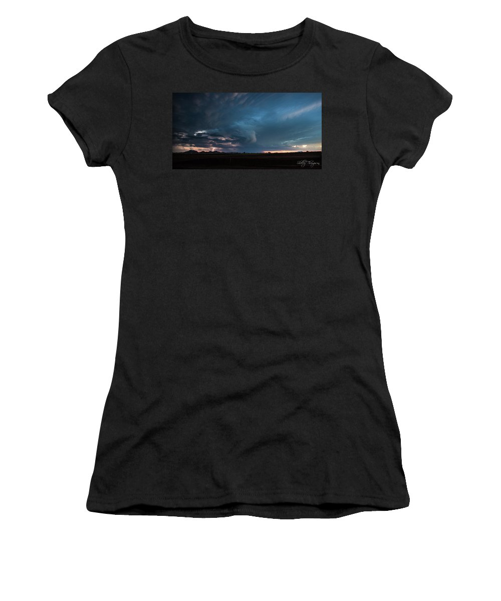 Stoms Women's T-Shirt (Athletic Fit) featuring the photograph Got It All by Shelly Thompson