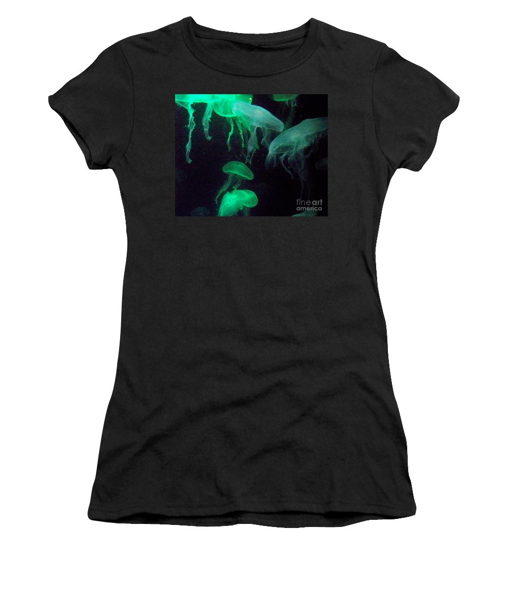 Florida Women's T-Shirt (Athletic Fit) featuring the photograph Green Freakiness by Chris Andruskiewicz