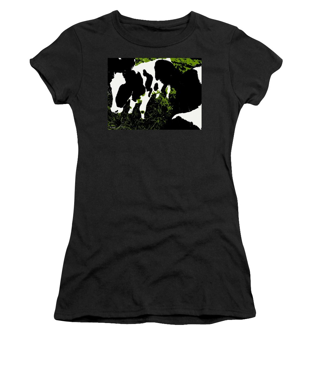 Still Life Women's T-Shirt featuring the photograph Greener Pastures by Ed Smith