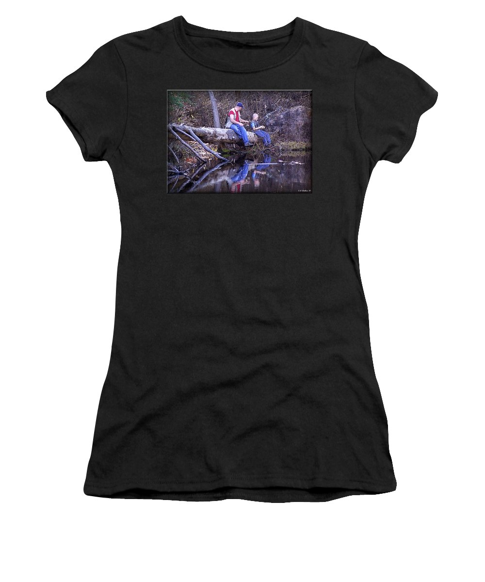 2d Women's T-Shirt (Athletic Fit) featuring the photograph Growing Up by Brian Wallace