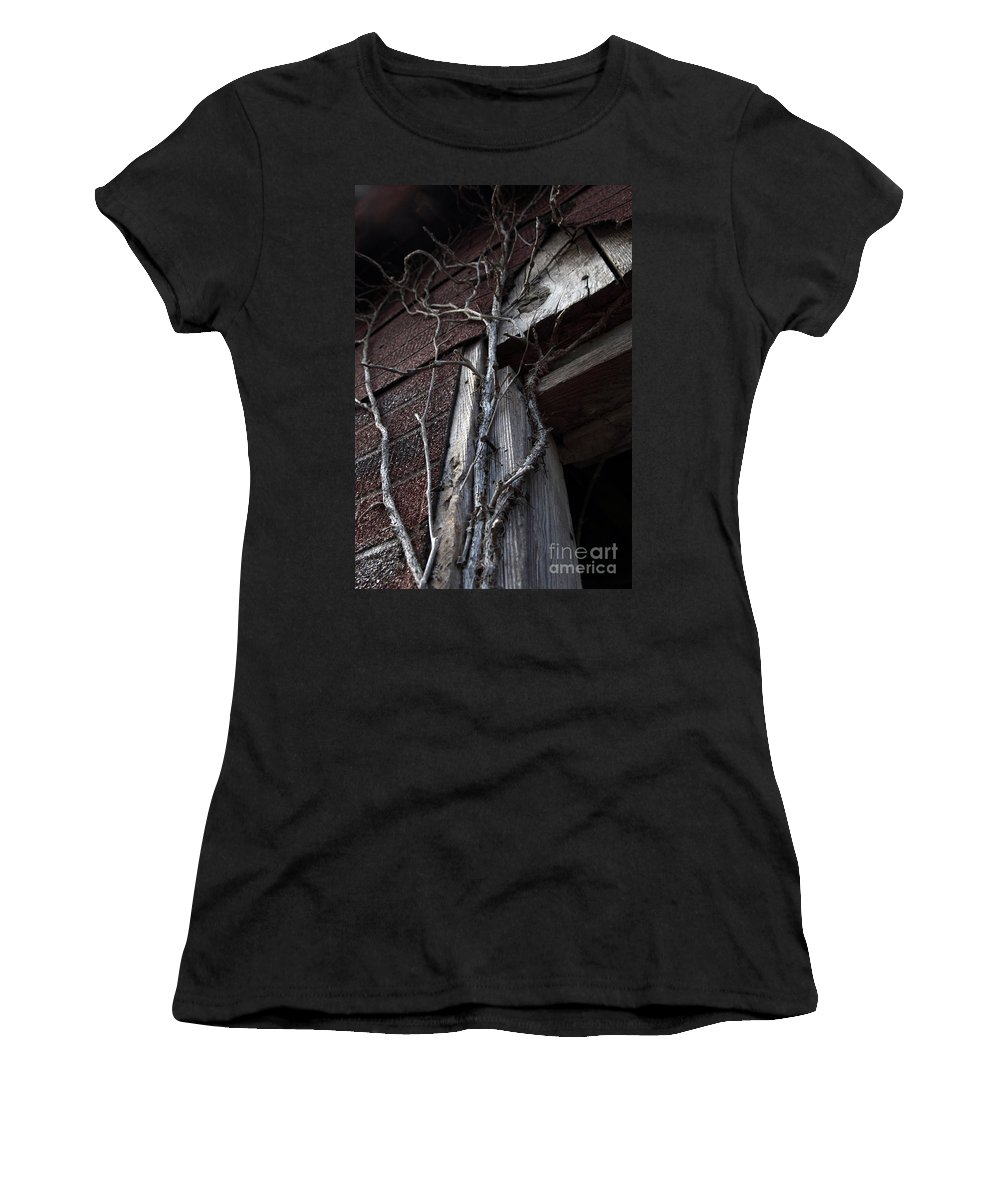 Broken Women's T-Shirt (Athletic Fit) featuring the photograph Growth by Amanda Barcon