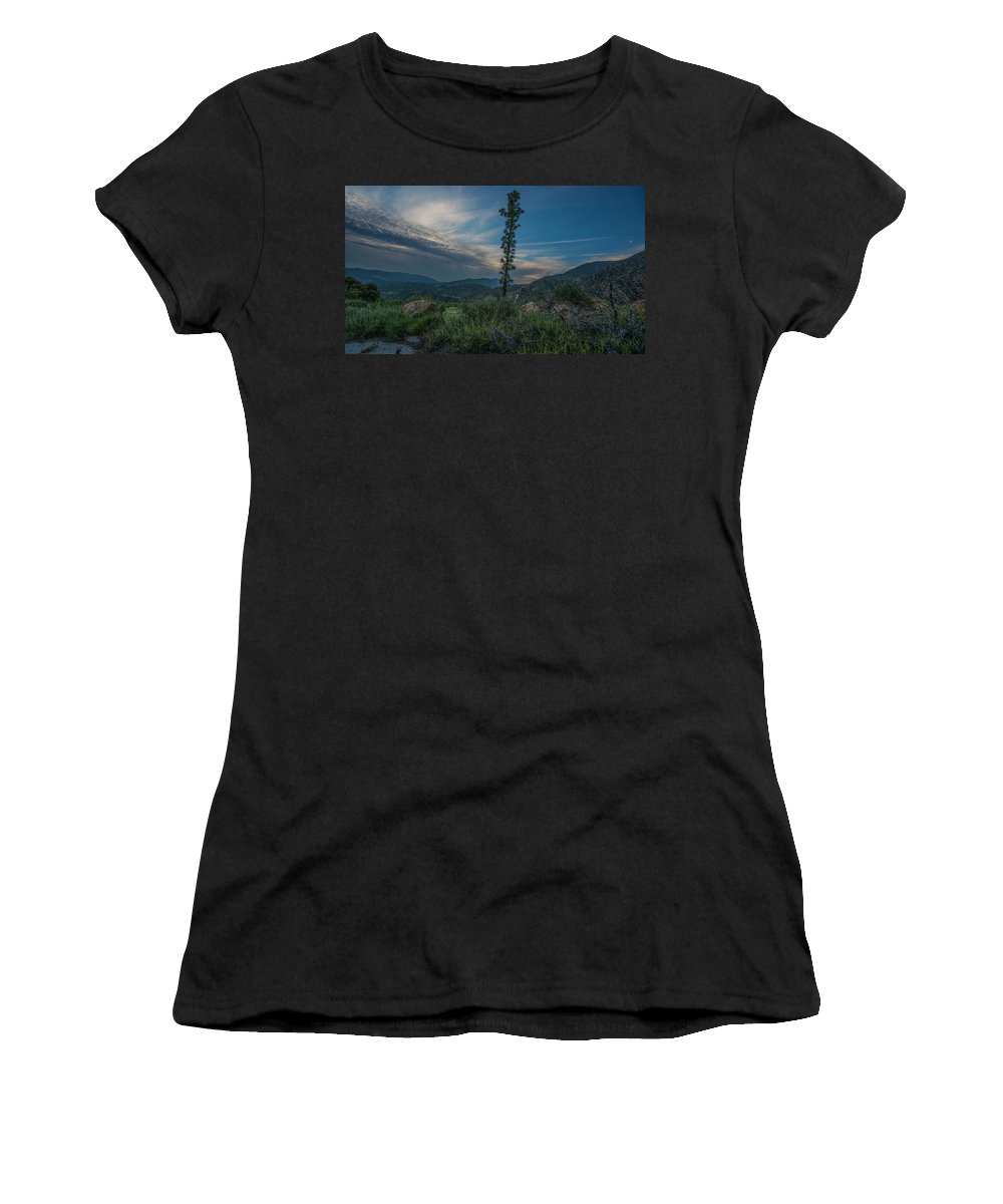 Growth Spurt To The Heavens Women's T-Shirt (Athletic Fit) featuring the photograph Growth Spurt To The Heavens by Kenneth James
