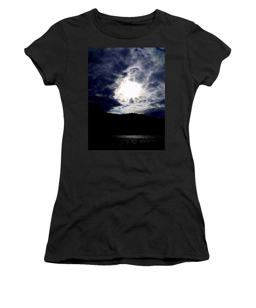Sky Women's T-Shirt featuring the photograph Guardian Of The Portal by Edward Smith