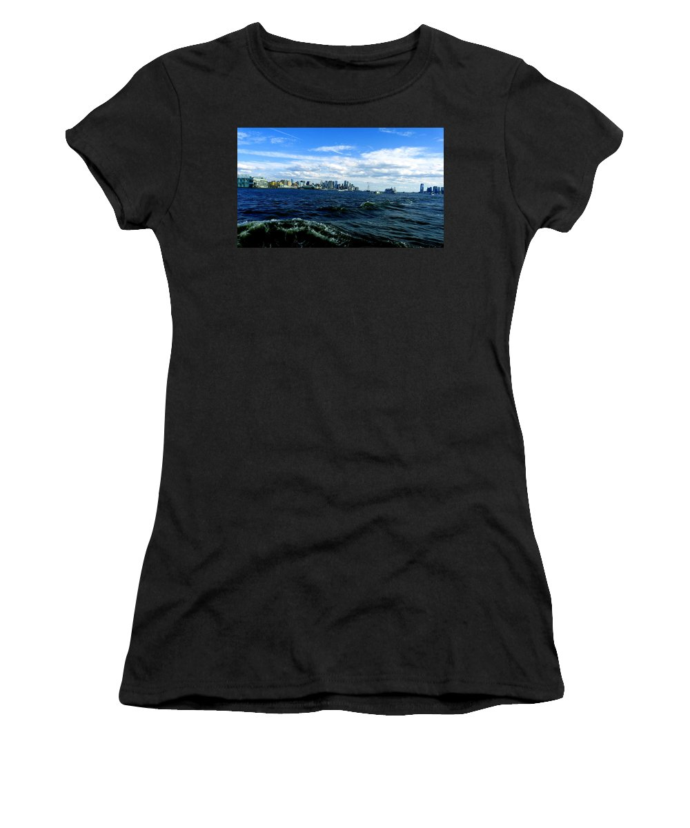 Water Women's T-Shirt (Athletic Fit) featuring the photograph Hangin With Mermaids by Kendall Eutemey