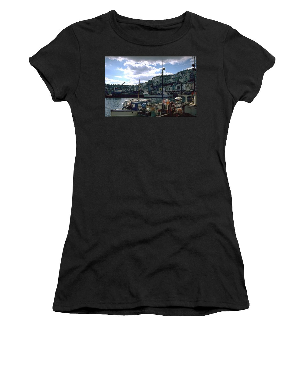 Great Britain Women's T-Shirt featuring the photograph Harbor II by Flavia Westerwelle