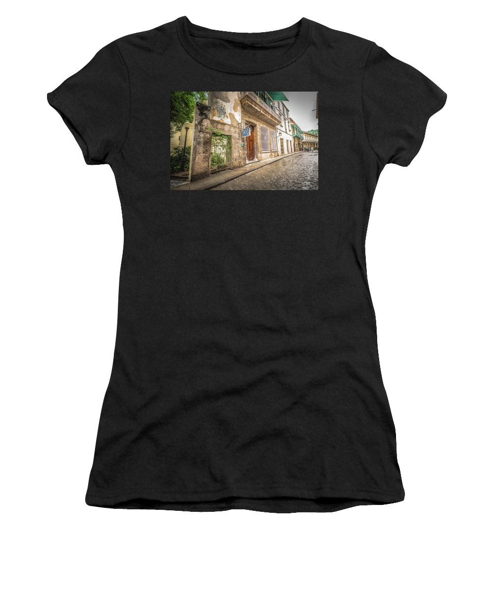 Havana Women's T-Shirt (Athletic Fit) featuring the photograph Havana by Bill Howard
