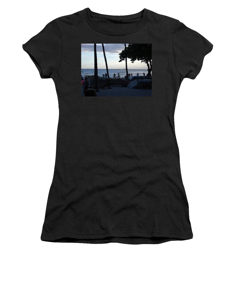 Hawaii Women's T-Shirt featuring the photograph Hawaiian Afternoon by Daniel Sauceda