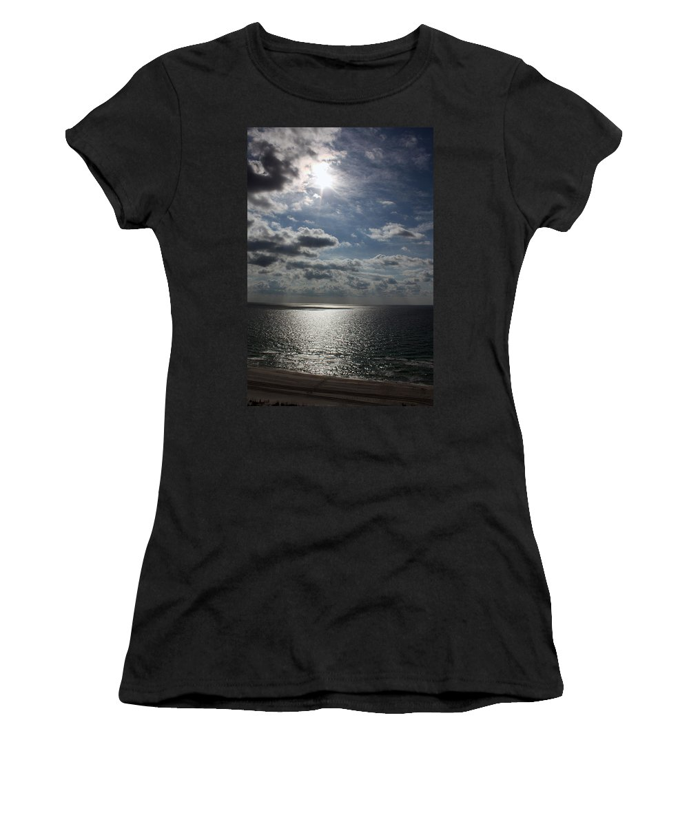 Sun Women's T-Shirt (Athletic Fit) featuring the photograph Healing Light by Tamivision