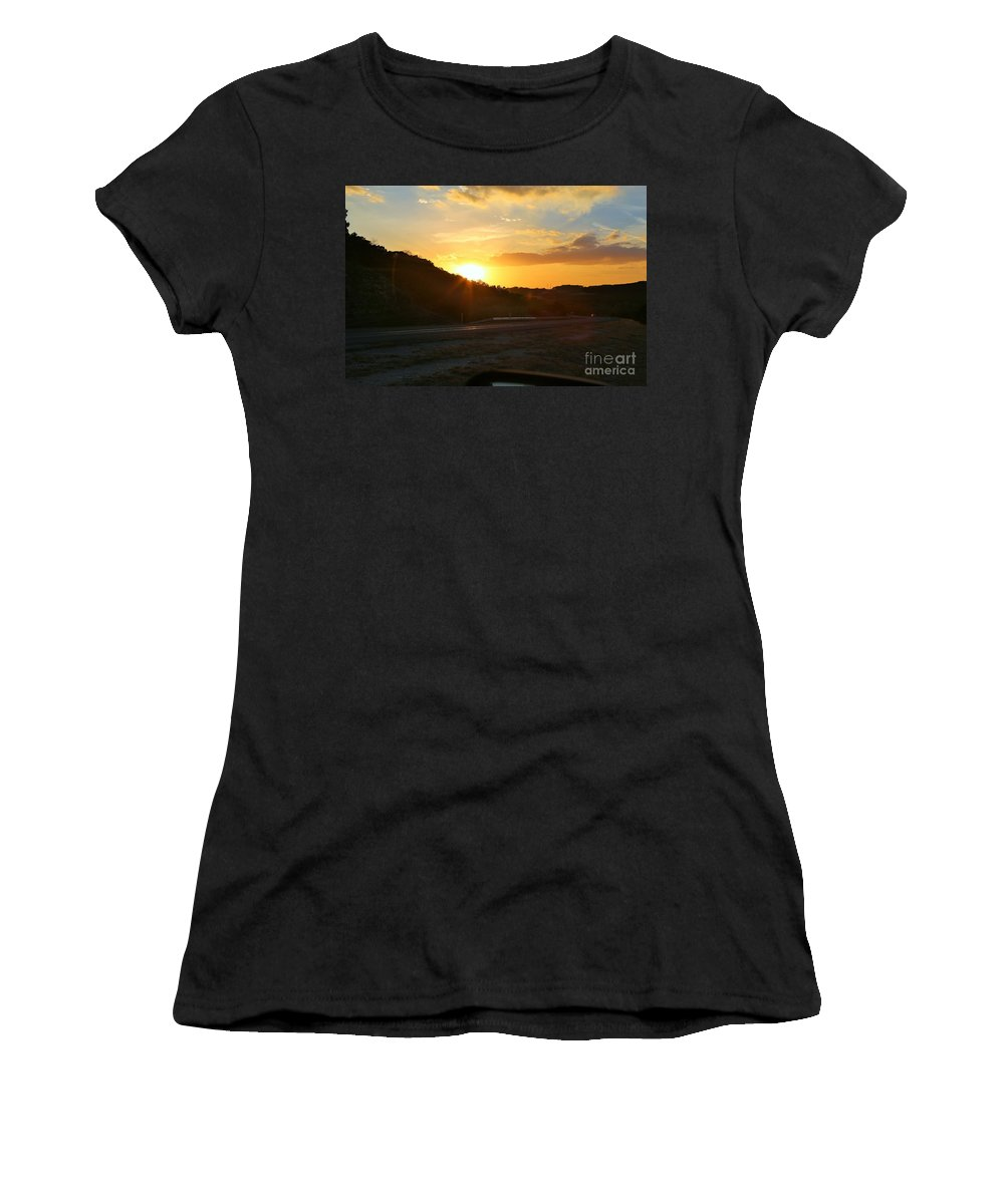 Women's T-Shirt featuring the photograph Hear The Whisper by Jeff Downs