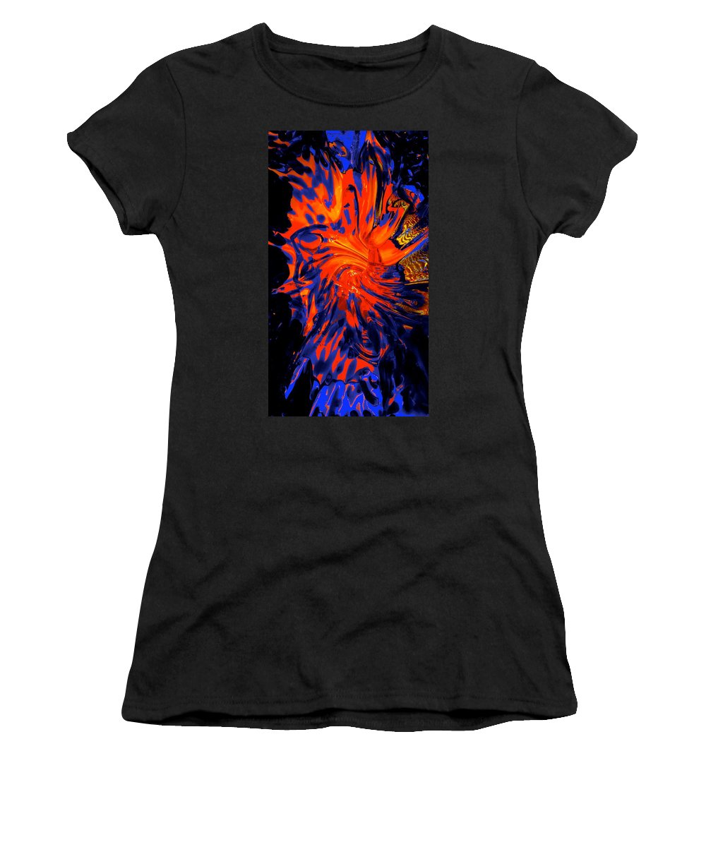 Starved Rock Hot Glass Women's T-Shirt featuring the photograph Heart Warmth by Tim G Ross