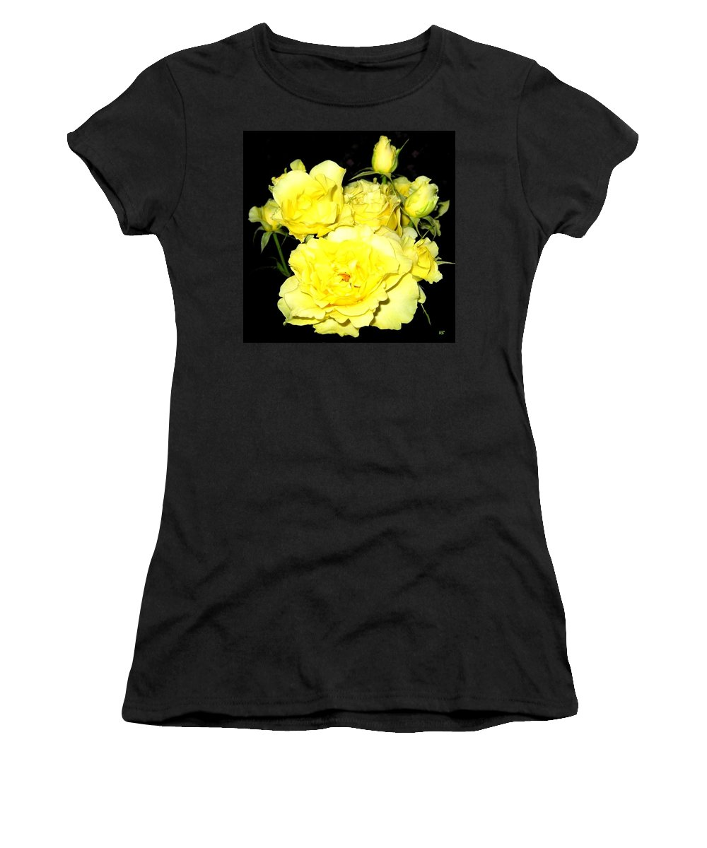 Roses Women's T-Shirt (Athletic Fit) featuring the photograph Heaven Scent by Will Borden