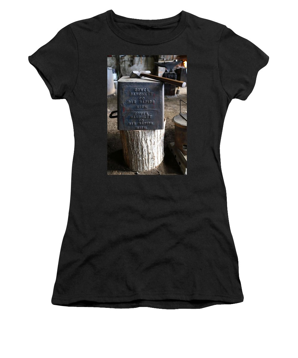 Heavy Metal Women's T-Shirt (Athletic Fit) featuring the photograph Heavy Metal by Pat Williams