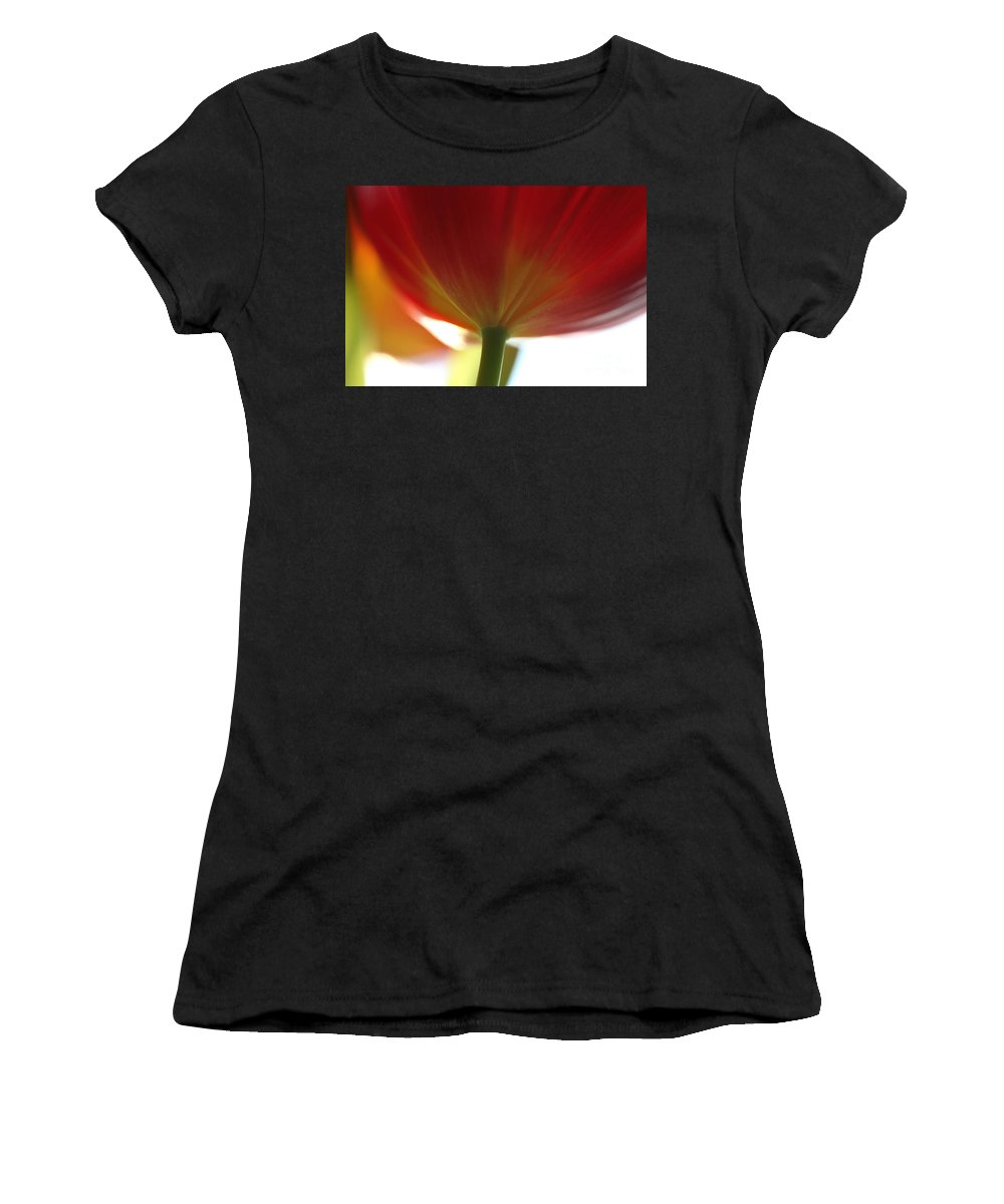 Tulip Women's T-Shirt (Athletic Fit) featuring the photograph Help Is Here by Amanda Barcon