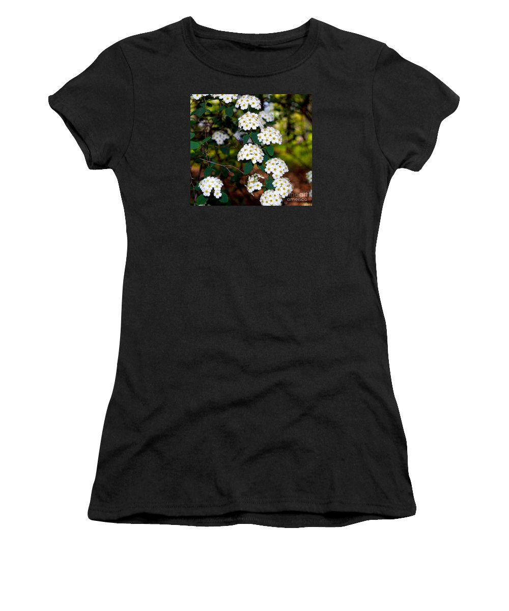 Fine Art Photography Women's T-Shirt featuring the photograph Here Comes The Bride by Patricia Griffin Brett
