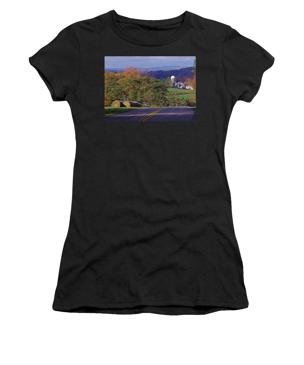 Landscape Women's T-Shirt (Athletic Fit) featuring the photograph High Country by Christian Mattison