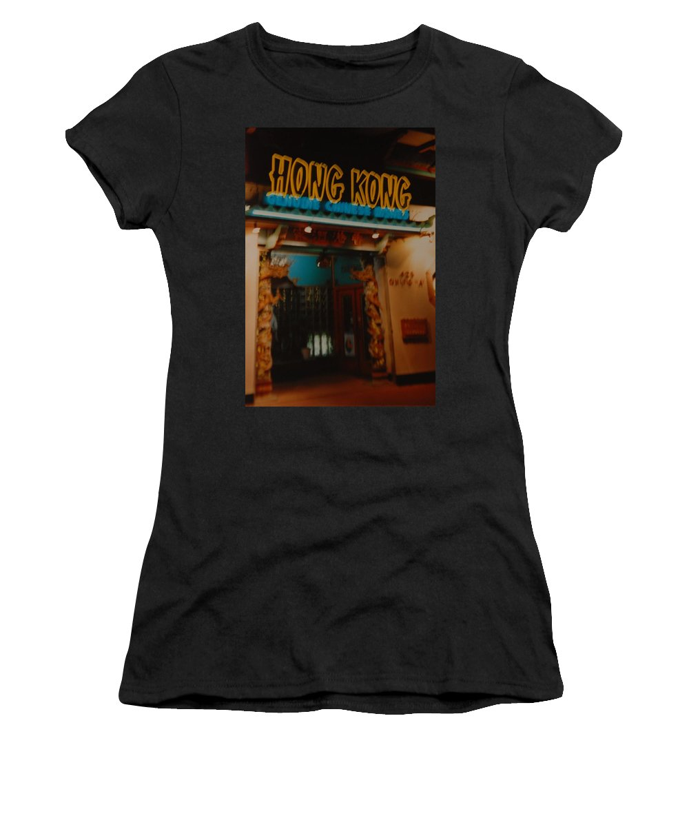 Los Angeles Women's T-Shirt (Athletic Fit) featuring the photograph Hong Kong by Rob Hans
