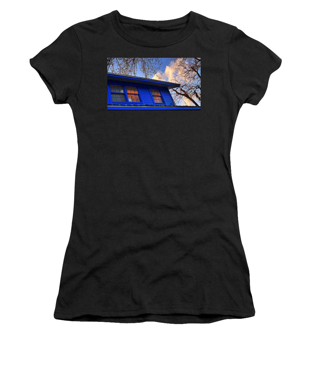 Hope Women's T-Shirt (Athletic Fit) featuring the photograph Hope by Skip Hunt