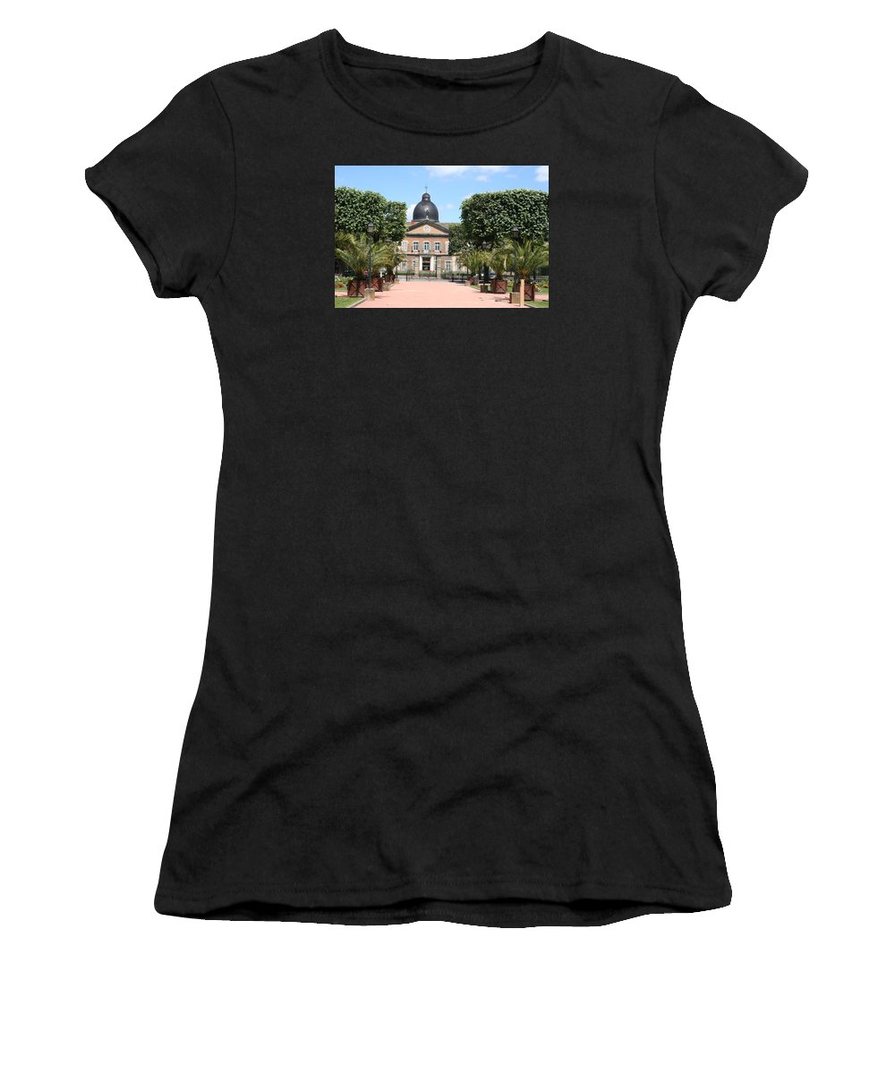 Hospital Women's T-Shirt (Athletic Fit) featuring the photograph Hotel Dieu - Macon by Christiane Schulze Art And Photography
