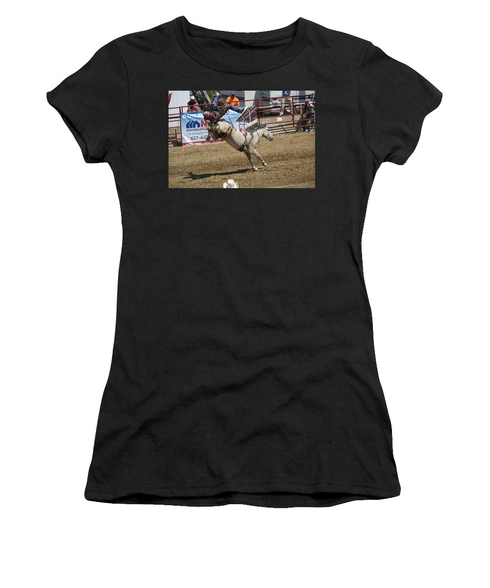 Rodeo Women's T-Shirt (Athletic Fit) featuring the photograph Houston,we Have Lift-off by Michael Koski