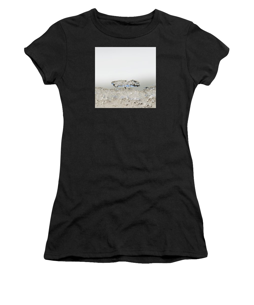68steelphotos Women's T-Shirt (Athletic Fit) featuring the photograph Ice Ice Baby by Scott Bryan
