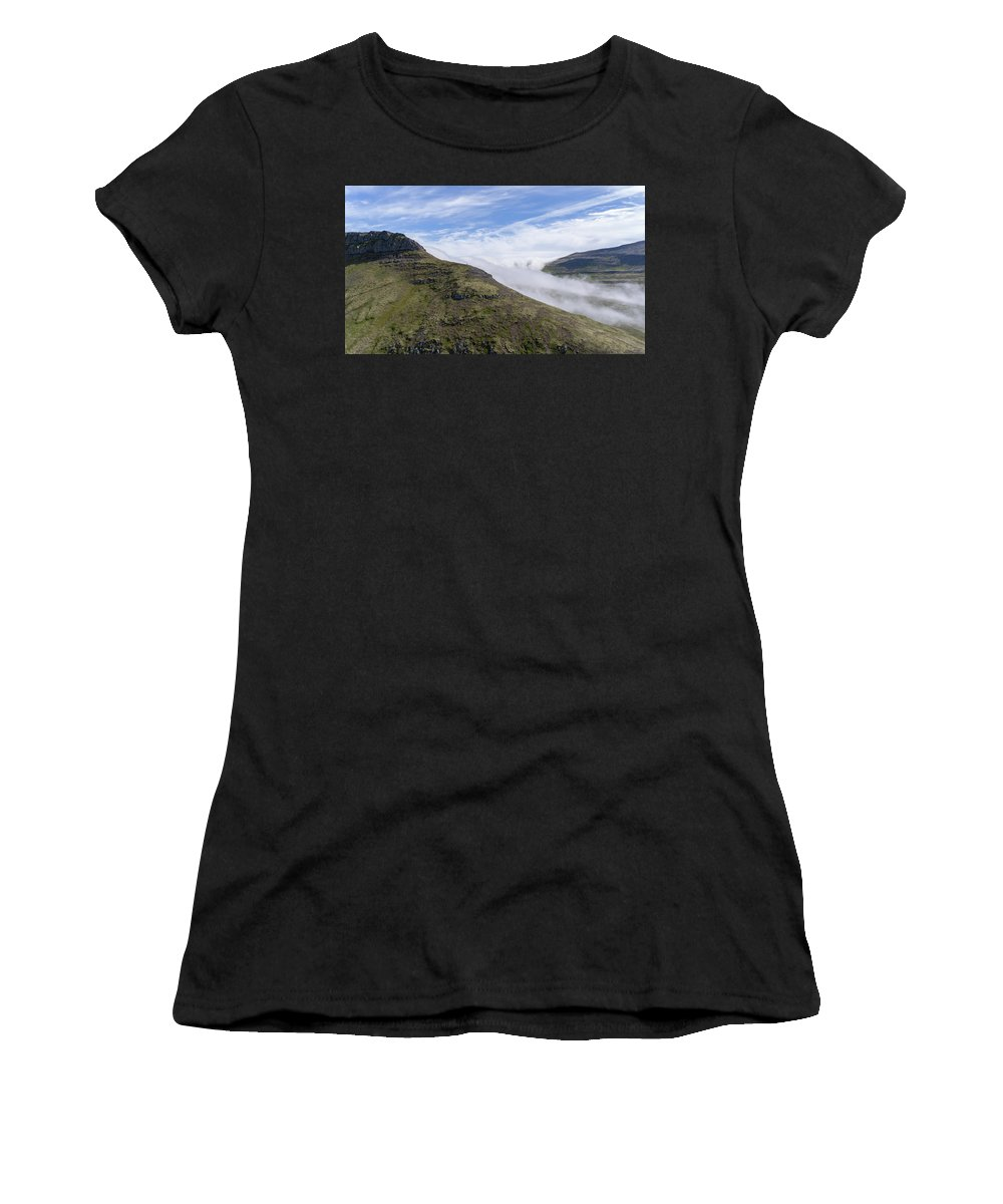 Landscape Women's T-Shirt (Athletic Fit) featuring the photograph Iceland 10 by Valeriy Shvetsov