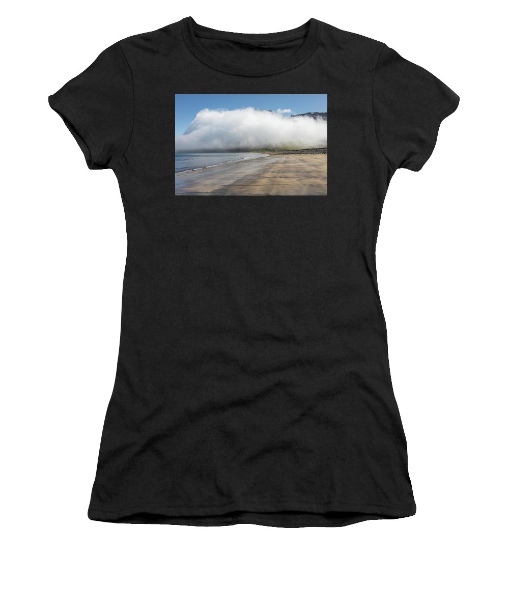 Iceland Women's T-Shirt (Athletic Fit) featuring the photograph Iceland 14 by Valeriy Shvetsov