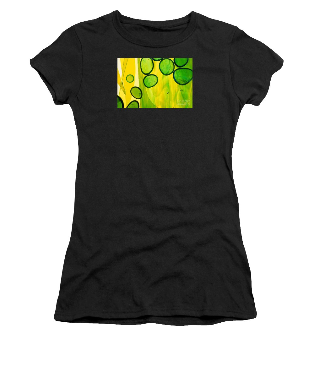 Art Deco Women's T-Shirt (Athletic Fit) featuring the photograph Illuminations 51 by Barbara Chase
