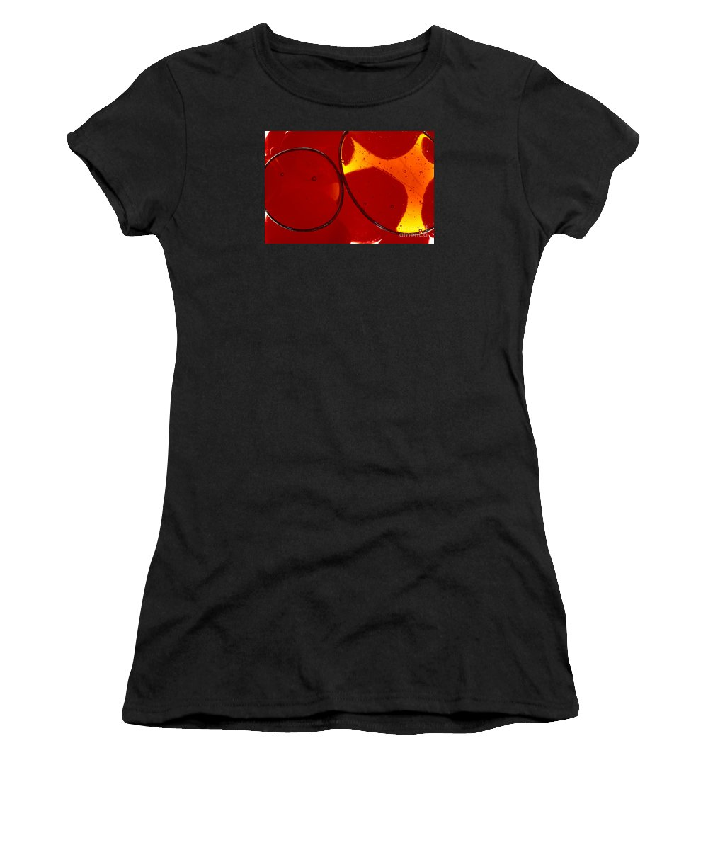 Art-deco Women's T-Shirt featuring the photograph Illuminations 64 by Barbara Chase