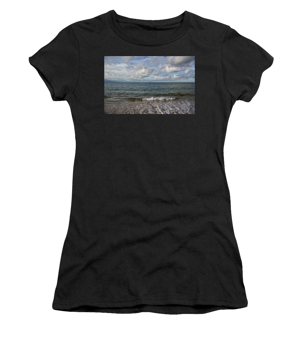 Sea Women's T-Shirt (Athletic Fit) featuring the photograph In The Sea by James Conway