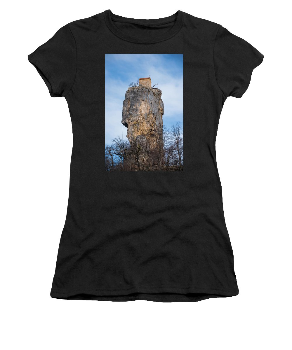 Katskhi Women's T-Shirt featuring the photograph In The Sky by Svetlana Sewell