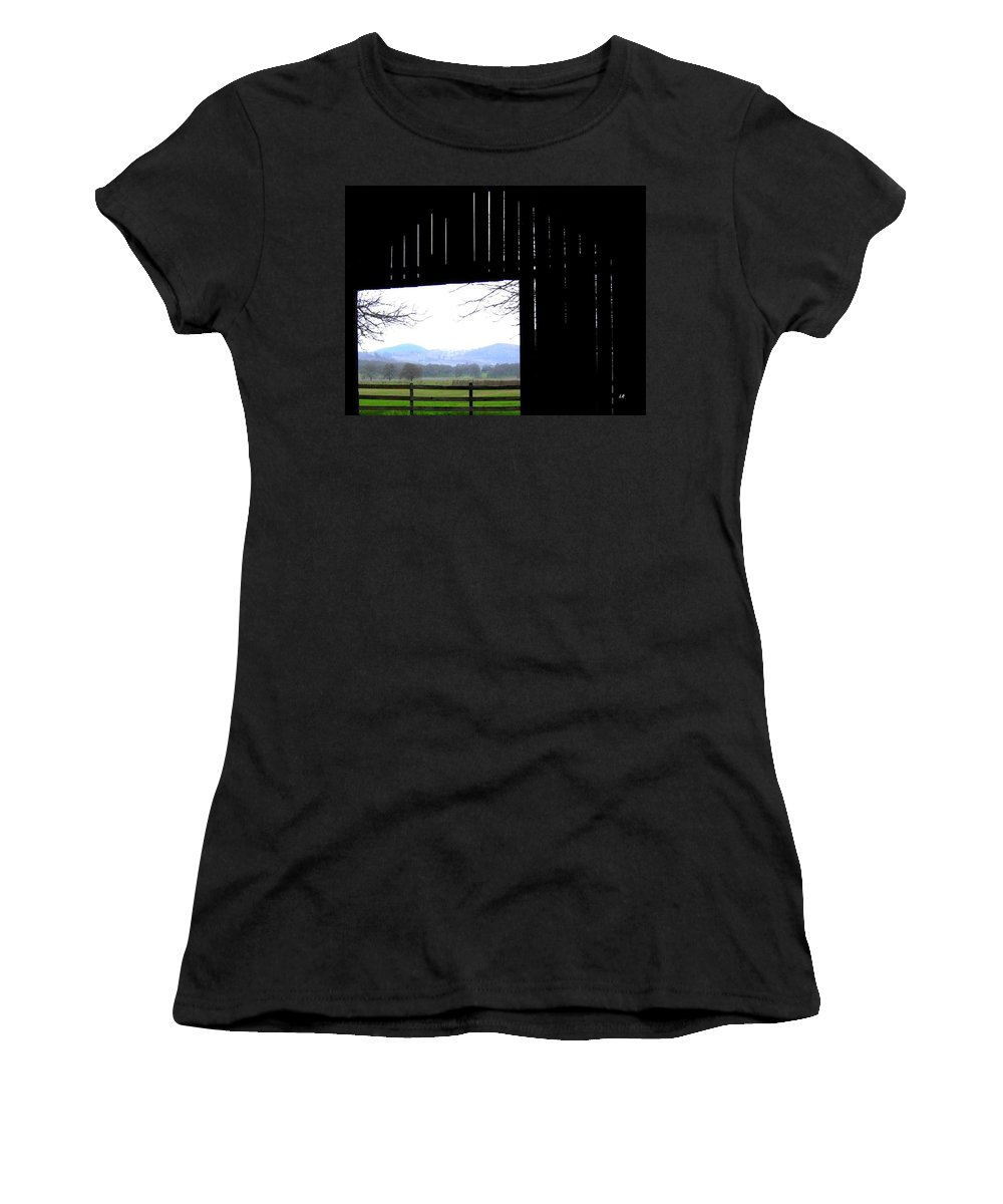 Barn Women's T-Shirt (Athletic Fit) featuring the photograph Inside Out by Will Borden