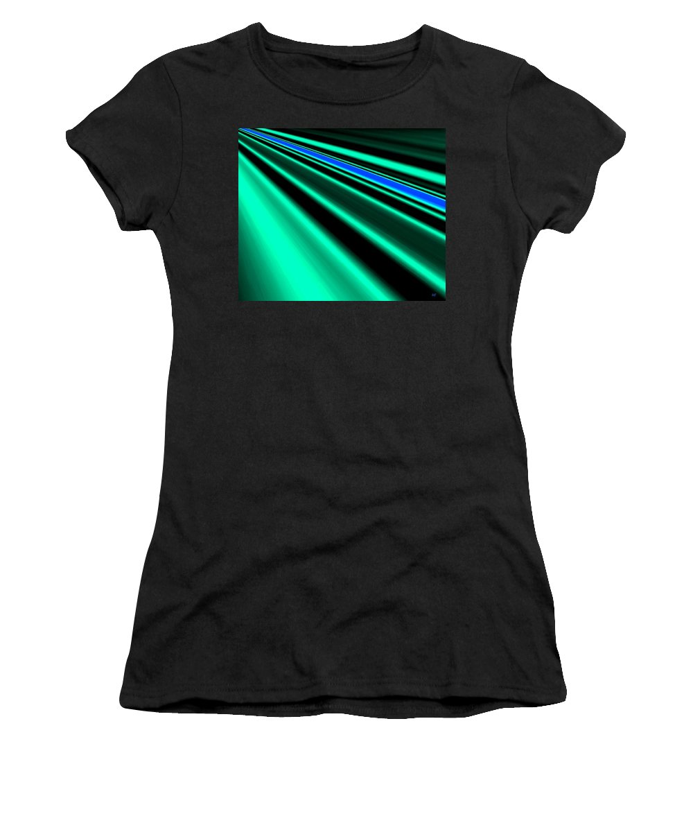 Abstract Women's T-Shirt featuring the digital art Inspiration by Will Borden